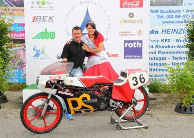 Schleizer Dreieck 2016 mit Saale-Orla Prinzessin
